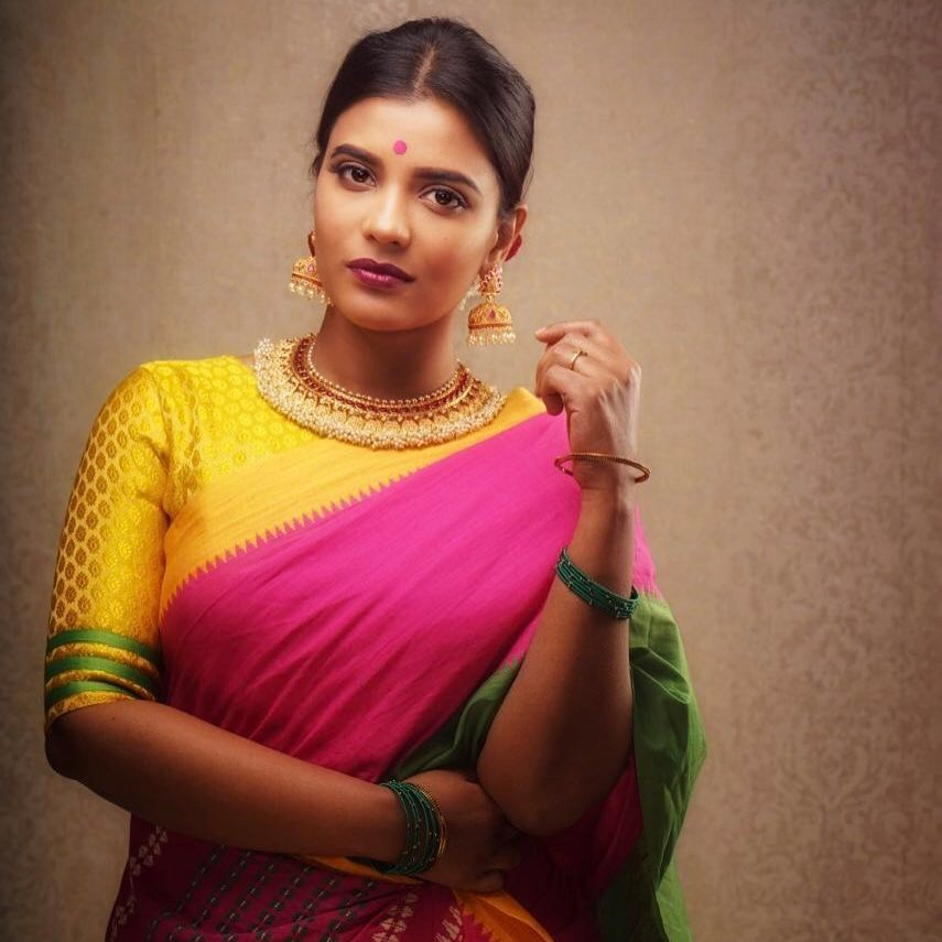 Aishwarya rajesh Traditional Look