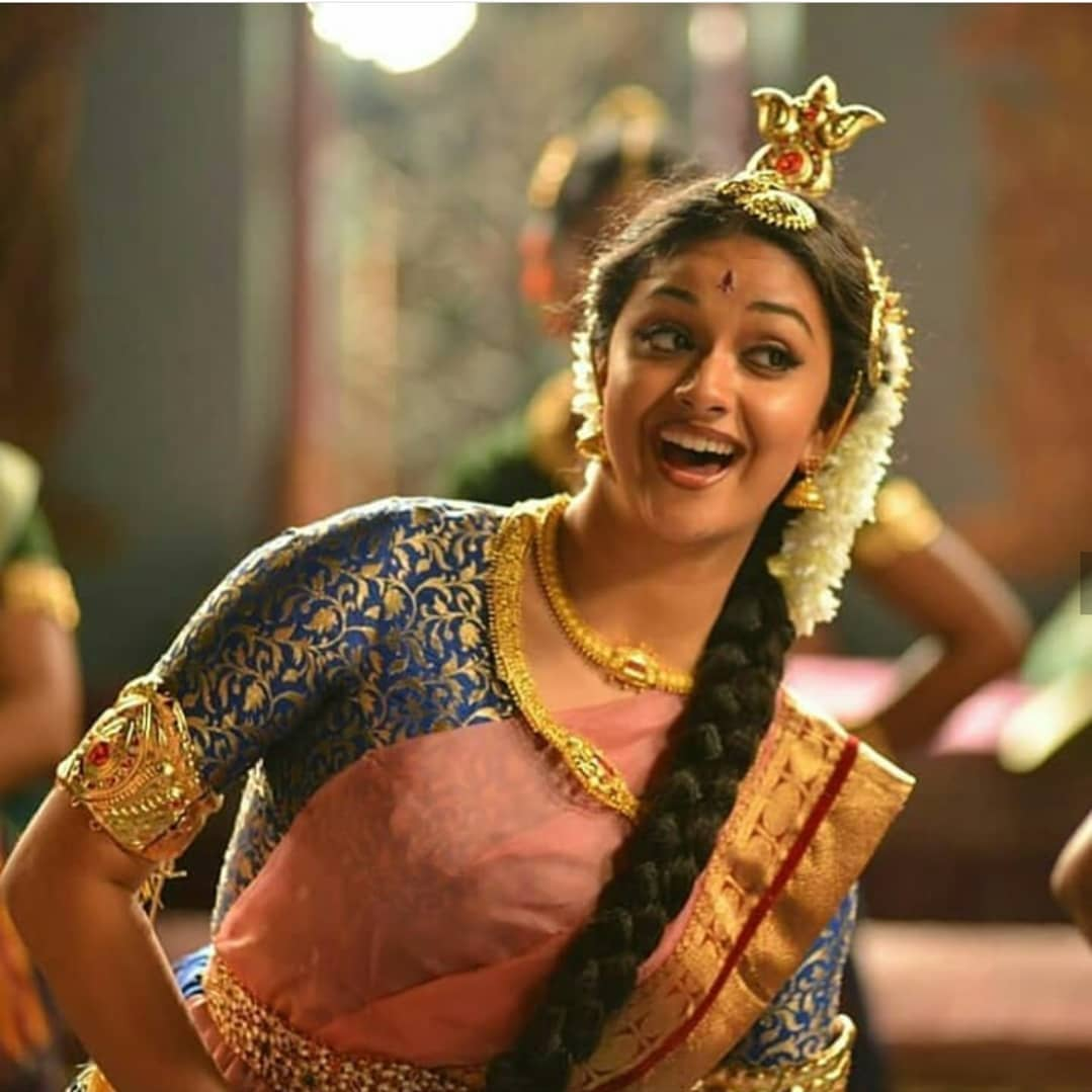 Keerthy Suresh As Savitri in Mahanati Film