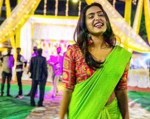 Samyuktha Hegde Saree Photo