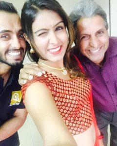 samyuktha Hegde Family Photo