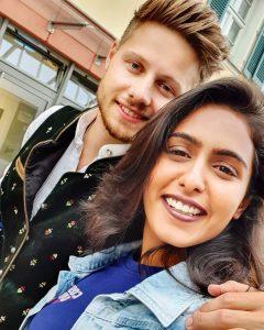 samyuktha Hegde With Her Boyfriend Chris Sauer