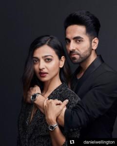 Radhika Apte with Ayushman Khurrana
